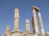 0831 7th March 09 Roman Temple to Jupiter  Amman Jordan.jpg