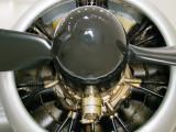 Douglas DC-3 Engine Al Mahatah Museum Sharjah