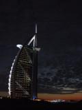 Burg Al Arab at Dusk Dubai.JPG