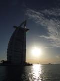 Burg Al Arab Sunset Dubai.JPG