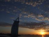 Sunset at Burg Al Arab Dubai.JPG