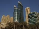 Dubai Hilton and Jumeirah Beach Residences.JPG