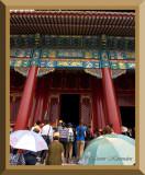 The Forbidden City.  Beijing