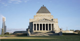 Shrine of Rememberance and Eureka Tower