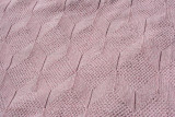 Elizabeth Whalon Knit Blanket