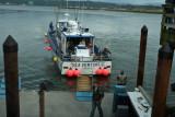 The Sea Venture One Prepares To Dock
