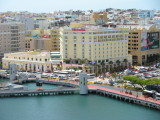 View of our hotel from the ship