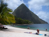 One of the Pitons