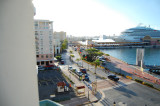 The port area in Old San Juan.  Taken from our hotel balcony.