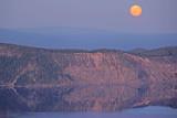 Moon Rising at Crater Lake