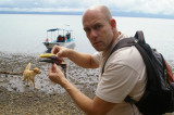 Found Toucan Beak on the Shore of Golfo Dulce near Golfito