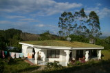 White Casita with clothesline
