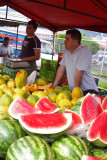Selling Watermelons and Papayas