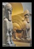 Assyrian Winged Bull (721-705 BC)  - British Museum (EPO_7174)