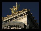 Gold in the Winter Sun  - Paris