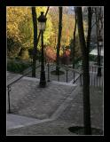 Lampadaire and Stairs - Paris