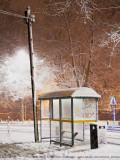 Night Snow in Derby