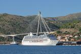 Dubrovnik port with  Franjo Tuđman bridge pristanišče Dubrovnik_MG_4498-111.jpg