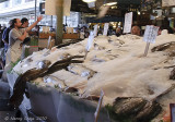 Tossing the Fish in Pike Place Market