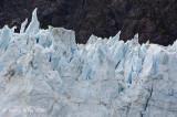 Jagged Glacier Top in Glacier Bay