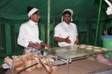 Cooking  Bread at Desert Dinner, Dhahran