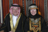 Bill and Nancy Crays in Wedding Clothes Worn in Asir