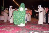 Dancers at Desert Dinner, Dhahran