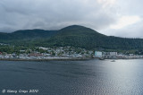 View of Ketcikan from the Oosterdam