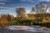 River and mill, Fiddleford, Dorset (1580)
