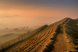 Ridge and fence, Eggardon Hill, Dorset (1938)