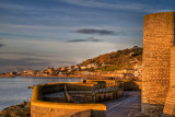 Tower and seafront, Lyme Regis, Dorset