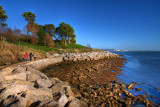 Footpath, the Nothe, Weymouth, Dorset