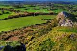 View from Brentor, Dartmoor, Devon
