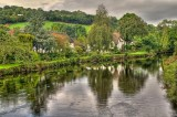 The River Exe at Bickleigh, Devon