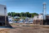 Low tide at St. Aubin, Jersey
