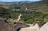 Water shute near Zahara, Andalusia