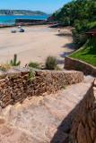 Steps and pier, St. Brelade