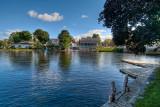 Across the lake from Stonyhurst