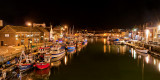 The harbour by night, Weymouth