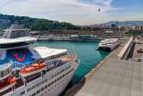 Cruise liner, Barcelona