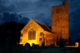 St. Margaret's at night