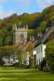 Church and homes, Milton Abbas (3011)
