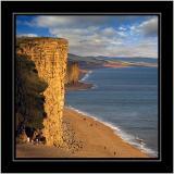 Cliffs and beach, West Bay, Dorset