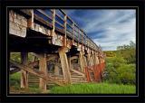 Bridge near Broomhill station
