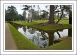 Moat and Italian garden, Bicton, Devon (2219)