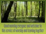 'Welcome' slide from the Bluebells series