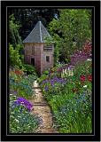 Another garden corner, Crathes Castle, Banchory, Aberdeenshire, Scotland