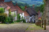Gold Hill, Shaftesbury, Dorset (8183)