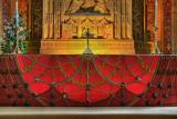 The high altar, Sherborne Abbey, Dorset