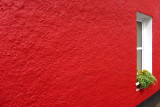 Red Tobermory wall